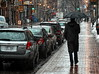 Jour de parapluie (Jean S..) Tags: street streetphotography man cars rain rainy morning lights umbrella