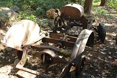 Car converted to a tractor (D70) Tags: car converted tractor britishcolumbia canada reid island nikon d70 2885mm f3545 ƒ35 283mm 150 200