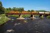 Newest Member of the Fleet (JaiJad) Tags: train railroad newenglandcentral necr3320 necr 3320 sd40 3 2 emd freighttrain freightcar bridge threerivers ma