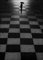 F_47A2145-3-BW-Canon 5DIII-Tamron 28-300mm-May Lee 廖藹淳 (May-margy) Tags: maymargy bw 黑白 人像 背影 逆光 剪影 地坪 鋪磁磚 直線 方形 幾何構圖 點人 雨傘 通道 corridor portrait viewfromback backlighting silhouette floor pavement tiled lines rectangles humaningeometry umbrella 花蓮縣 台灣 中華民國 taiwan repofchina心情的故事