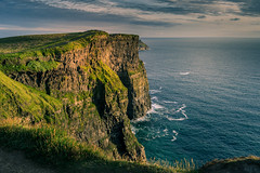 Cliffs of Moher (blue5011b) Tags: cliffsofmoher ireland coast cliffs ocean coastline landscape water clouds sunset galway nikon d810