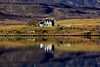 Dunvegan Isle of Skye Scotland (ichauvel) Tags: dunvegan iledeskye isleofskye écosse scotland royaumeuni unitedkingdom voyage travel maison house reflets reflections beautédelanature beautyofnature avril april printemps spring matin morning mer sea eau water landes lumiére light