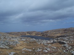 Rugged Landscape, near Bostadh, Great Bernera, April (allanmaciver) Tags: bhalasaig bostadh landscape rugged rough dark water loch clouds rain cold wind moor nog height rocks wild great bernera outer hebrides western isles allanmaciver