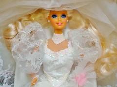 1989 Wedding Fantasy Barbie Doll #2125 (The Barbie Room) Tags: 1989 wedding fantasy barbie doll 2125 1980s 80s bridal bride gown dress