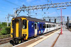 Northern 156487 (Mike McNiven) Tags: northern arriva railnorth sprinter manchester piccadilly stockport chester clc altrincham
