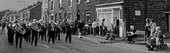 Whit Friday Band Contest - Greenfield - Saddleworth (Craig Hannah) Tags: whitfriday brassbands bandcontest greenfield saddleworth village marching pennine brassedoff traditional event westriding yorkshire oldham greatermanchester england uk craighannah photography photos canon blackandwhite monochrome 2012 june spring band spectators music