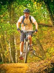Mountain Biker (cb|dg photo) Tags: mountainbike mountainbiking mountainbiker dirt path forest bike bicyle mtb biking cycling trail trees outdoors whiteshillopenspacepreserve marin california marincounty openspacepreserve park