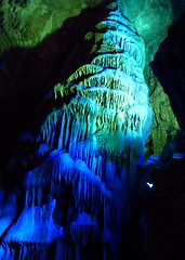 7247_Guilin - Reed Flute Cave - Column (willowD) Tags: china guilin reedflutecave