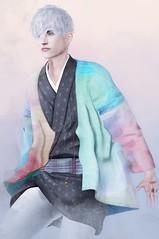 Chromaticism Glow (テイラー) Tags: secondlife dura tomato clefdepeau themensdept kimono color splash mesh taylorwassep