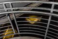 Wheaton (Chris Protopapas) Tags: sony wheaton metro stairs garage railing concrete