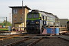 Leszno PKP     2018 (keithwilde152) Tags: st441212 leszno wielkopolska pkp cargo poland 2018 depot turntable tracks buildings architecture town diesel locomotives outdoor spring sun
