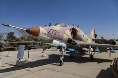 McDonnell Douglas A-4H Ahit - 2 (NickJ 1972) Tags: israel israeli air force museum hatzerim iaf idf iasf 2018 aviation mcdonnell douglas a4 skyhawk ahit 272 270 155289