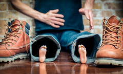 Petite Feet 134/365 (stevemolder) Tags: vello strobist shoes little feet 580ex canon may 365 westcott soft light