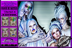[TD] Colour Me Skittles [FACE MAKEUP] UniSex (.☣.†ᴏxɪᴄÐᴏɪɪs.☣.) Tags: makeup skittles mask carnival unisex omega hud face colour crazy male female sl avatar accessories applyer avi avtar beauty salon cosmetic secondlife product toxic toxicdolls new