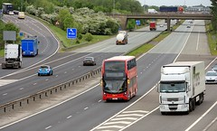 Go Ahead London EH259 on delivery 16th May 2018 M18 Jnc 5 (1) (asdofdsa) Tags: bus motorway m18 transport road travel londonbus goaheadlondon blossom hawthorne southyorkshire ondelivery journey