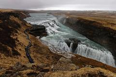 cascade de Gullfoss. Islande (** [ Im@ges in L ]) Tags: paysage islande cascade gullfoss cercledor eau canon 70d