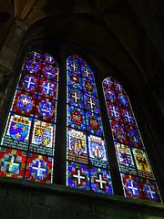 vidriera iglesia interior Colegiata Notre Dame de Dinant Belgica 05 (Rafael Gomez - http://micamara.es) Tags: vidriera iglesia interior colegiata notre dame de dinant belgica valonia bélgica