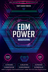 EDM POWER (movingclays) Tags: adobe artist beatport colors dance dj dubstep edm electro festival flyer futuristic graphic guest house indie instagram itunes millennial model modern neon nightclub party psd rock soundcloud speaker techno template