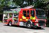 YJ67 UWX 02 (IainDK) Tags: orange west yorkshire fire rescue cleckheaton pump ladder volvo fl 816 emergency one engine truck appliance e imageall imagefireall imagefirela