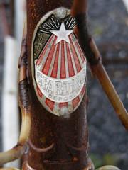 Sparting Depose Headbadge (braveheart1979) Tags: townsendbx40 wildatlanticway cycletouring