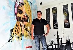 Artist Brozilla - Stencil (zoe sarim) Tags: germany hamburg artist brozilla stencil