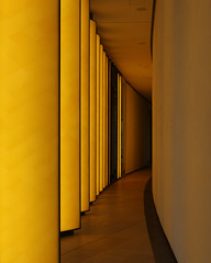 (ISSMAEL.x) Tags: geometric architecture abstract arquitectura arte art line lines light lineas lights luz luces minimalismo minimalism minimal yellow amarillo composition canon