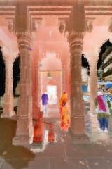 India - Uttar Pradesh - Varanasi - 251bb (asienman) Tags: india uttarpradesh varanasi asienmanphotography asienmanphotoart asienmanpaintography