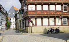 Obere Mühlenstraße in Goslar (elke.kemna) Tags: goslar altstadtgoslar elkekemna