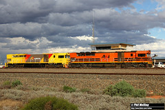 31 March 2018 Q4004 Q4009 West Kalgoorlie (RailWA) Tags: railwa philmelling aurizon 2018 q4004 q4009 west kalgoorlie