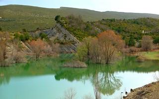 Embalse de Belsué, Huesca, Aragón, España