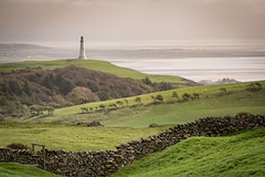 26th April 2018 (Rob Sutherland) Tags: gamswell hill hoad sirjohnbarrow monument lighthouse ulverston pepperpot morecambe bay leven estuary fell moors moorland wall drystone trees ancienthedges wood woodland sea irish cumbria cumbrian furness lakes lakeland lakedistrict farm farming agriculture agricultural rural traditional landscape view scenic scenery footpath stile walk walking outdoor