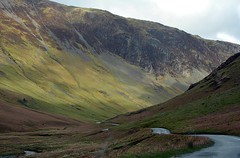 Mountain Road (matlacha) Tags: lakes mountains tourists road scenery moors lakedistrict birds fishing hiking adventure canooing cumbria uk