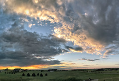 18Jul17 Sunrise (northern_nights) Tags: sunrise colorful cheyenne wyoming cell clouds sky morning