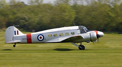 Anson (Bernie Condon) Tags: rafconingsbystationflight military uk british shuttleworth collection oldwarden airfield airshow display aviation aircraft plane flying q00yearsoftheroyalairforceairshow bae avro anson trainer passenger airliner transport civil vintage preserved classic