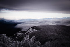Clouds and snow (Strocchi) Tags: snow clouds neve nuvole mountain montagna campigna romagna italy fog nebbia canon eos6d 24105mm