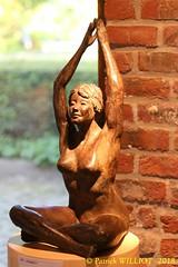 IMG_8124 (Patrick Williot) Tags: exposition vernissage ecuries sculpteur michal peintre genevieve nicolas