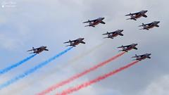 Dassault-Breguet/Dornier Alpha Jet E (Laurent Quérité) Tags: canoneos7d canonef100400mmf4556lisusm dassaultbreguetdornier alphajet frenchairforce arméedelair patrouilledefrance militaryaircraft aviation aéronef ba701 salondeprovence france