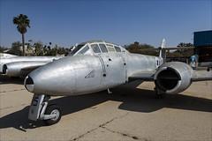 Gloster Meteor T7 - 3 (NickJ 1972) Tags: israel israeli air force museum hatzerim iaf idf iasf 2018 aviation gloster meteor t7 15