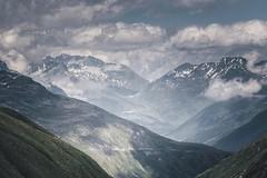 Layered Mountain view