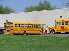 Freeman Bus Corp. #90 (ThoseGuys119) Tags: freemanbuscorp schoolbus watertownny thomasbuilt freightliner fs65 c2 saftliner yellowbumpers