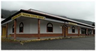 Victorian Steak House in Port Alice (closed) - Sony DSC-HX300