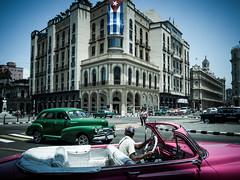 Havanna (gies777) Tags: kuba cuba havanna havana habana lahabana auto chevrolet chevy oldtimer uscar vintage cabrio cabriolet convertible pink olympus omd em5 mft micro four thirds reise travel vacation prado flagge flag fahne