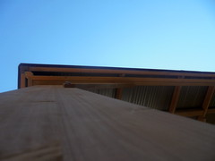 DSC03719 (classroomcamera) Tags: blue sky skies wood wooden up down low high above below lead leading line lines abstract gazebo gazebos structure structures