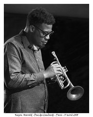 Keyon Harrold - Duc des Lombards - Paris - 17 avril 2018 (Dust of Soul Pictures) Tags: keyonharrold trompettiste jazz hiphop