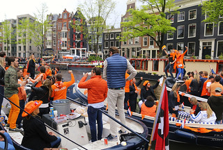 Holland celebrating King's Day