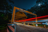Light Trails on a Covered Bridge (d_aryu) Tags: lighttrails sony a7rii voigtlander15mmf45 voigtlander sonya7 nighttime covered bridge coveredbridge smyrna low angle lowangle flickrfriday