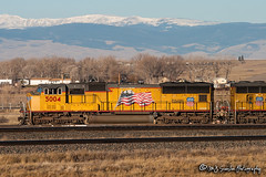UP 5004 | EMD SD70M | UP Laramie Subdivision (M.J. Scanlon) Tags: business canon capture cargo color commerce container digital emd eos engine freight haul horsepower image impression intermodal kpdg1 landscape laramie locomotive logistics mjscanlon mjscanlonphotography merchandise mojo mountain move mover moving outdoor outdoors perspective photo photograph photographer photography picture rail railfan railfanning railroad railroader railway real rockymountains sd70m scanlon sky snow snowcapped steelwheels super track train trains transport transportation tree up up5004 upkpdg1 uplaramiesub uplaramiesubdivision unionpacific view wow wyoming ©mjscanlon ©mjscanlonphotography