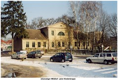 Neustrelitz - Forsthauskrippe - ehemaliger Wildhof 2002 (Knipser@) Tags: neustrelitz hw gebäude