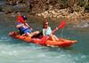 Kayaker on Buffalo River - Steel Creek Campground, Northwest Arkansas (danjdavis) Tags: kayaker kayak kayaking buffaloriver buffalonatinalriver arkansas