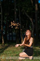 Dipterocarpus retusus fruits fly (Hosting and Web Development) Tags: sit arm hand vertical face smile shoulder sunlight sunshine grass body leg leaf beautiful black tree eyes glasses eye female femininity bokeh bokehwhores